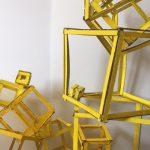 FIRKANT GUL - elever fra Billedskolen Storstrøm udstiller værker