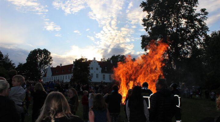 Sankt Hans aften på Rønnebæksholm