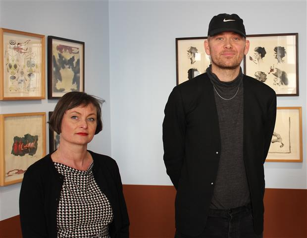 Artist talk - Julie Nord og Mathias Kryger