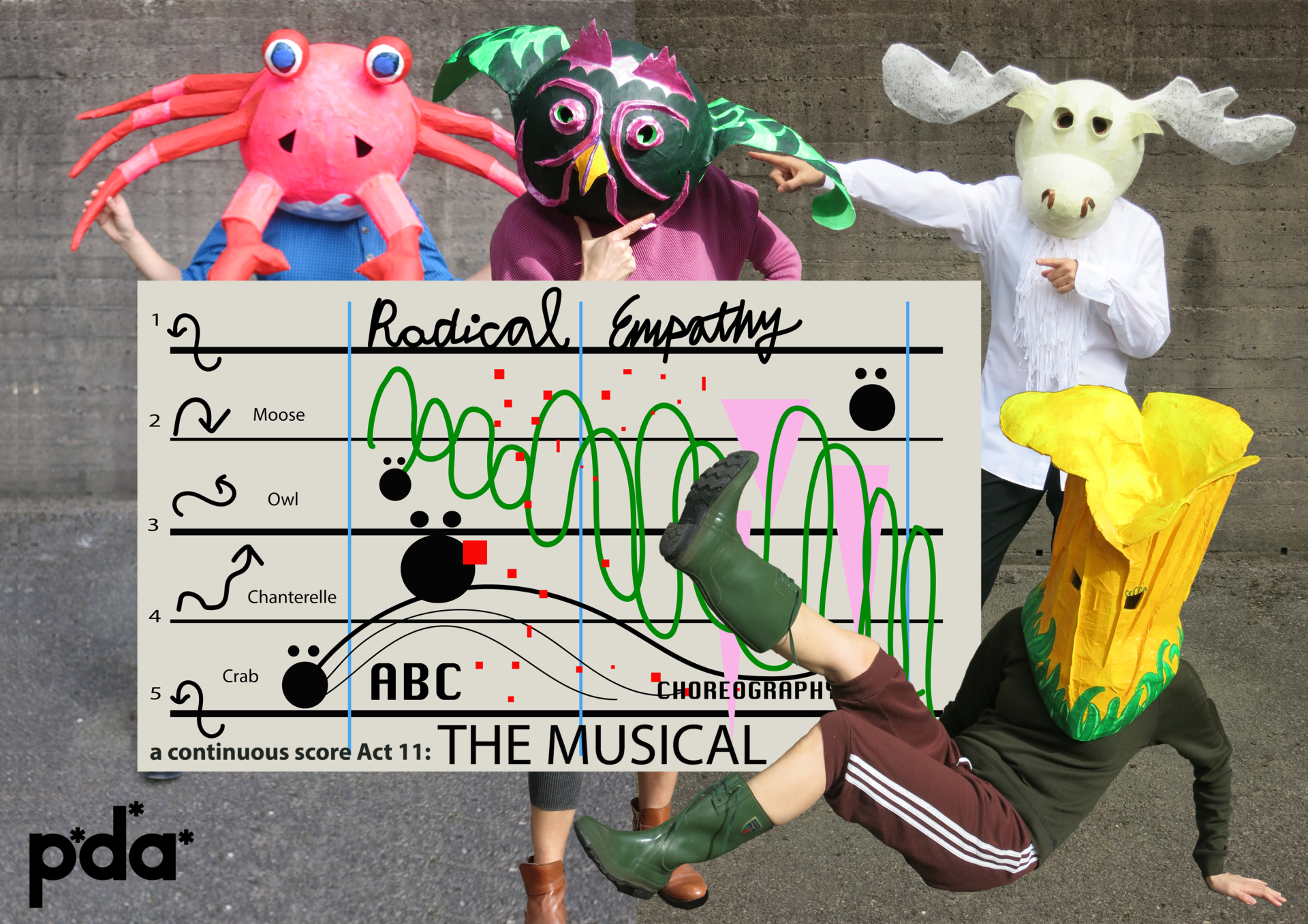 Radical Empathy, A Continuous Score, Act 11: The Musical, P*D*A*